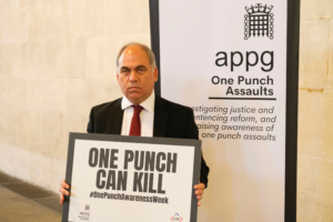 Bambos supporting the APPG on One Punch Assaults