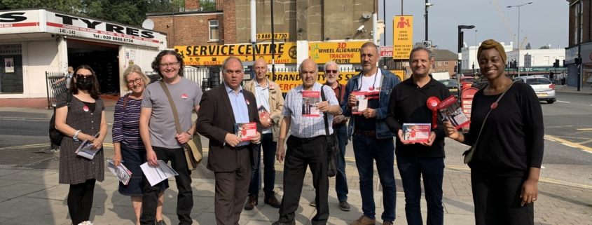 The Labour doorstep in Bowes