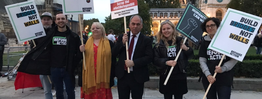 Refugees Welcome Rally