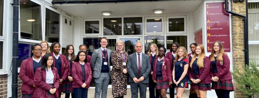 Bambos school visit St Anne's